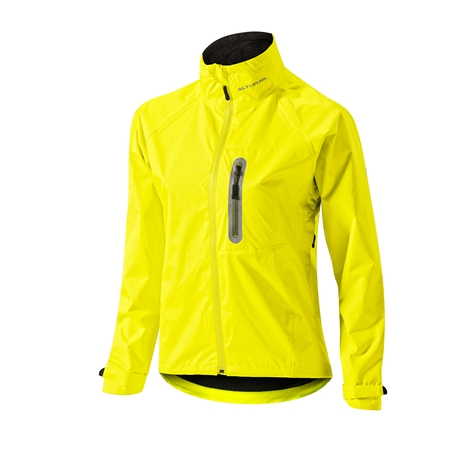 Altura Nevis women's jacket.  A highly visable commuter jacket. Waterproof, windproof and breathable.