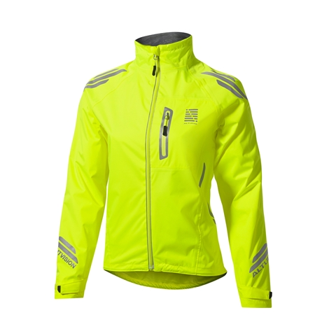 Altura Night Vision women's jacket. Women's version of the Night Vision jacket with pockets and a built in rear light.